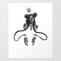 Azealia Banks Art Print
