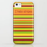iPhone Cases featuring I hate stripes - Fall by fabiotir