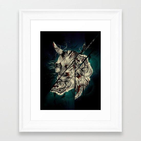 The Hanyas Framed Art Print