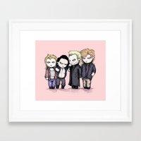 Lost Plushie Boys Framed Art Print