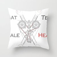 That Tell-Tale Heart Throw Pillow