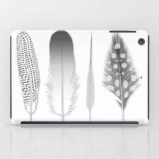 Feathers Trio iPad Case