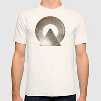Stereo Induction Mens Fitted Tee Natural SMALL