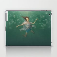 Dancing With Jellyfish Laptop & iPad Skin