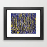 Splat Framed Art Print