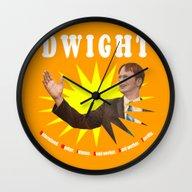 Dwight Schrute  |  The O… Wall Clock