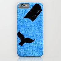 Whale In The Sea iPhone 6 Slim Case