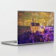 Yellow And Purple Neusch… Laptop & iPad Skin