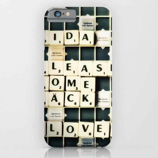 Come Back... iPhone & iPod Case