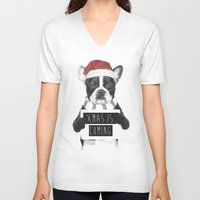 Xmas Is Coming Unisex V-Neck