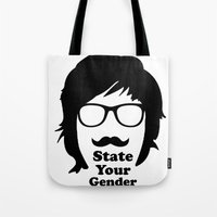 State Your Gender Tote Bag