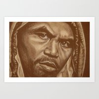 round 12..manny pacquiao Art Print