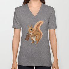 Super squirrel. Unisex V-Neck