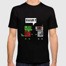 RAWR SMALL Black Mens Fitted Tee