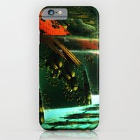 iPhone & iPod Case featuring Cannon Battery (Pixel Explosion) by Richard Jamison
