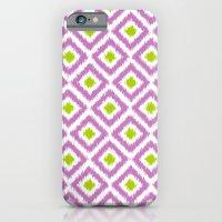 Purple and Green Diamonds iPhone 6 Slim Case