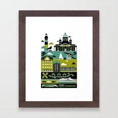 Helsinki Framed Art Print