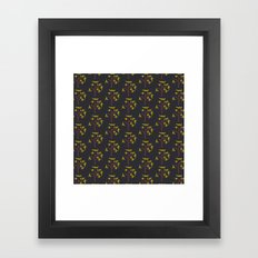 AUTUMN TREES Framed Art Print