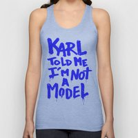 Karl told me // Summer 2014 edition // Unisex Tank Top