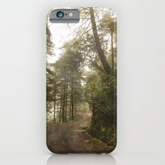 A foggy road in the forest, Dharamsala, India iPhone 6s Slim Case
