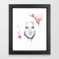 Debra Morgan  Framed Art Print
