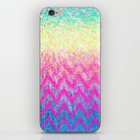 Hippie Chevron iPhone & iPod Skin