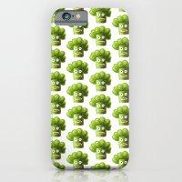 Funny Broccoli Pattern iPhone 6 Slim Case