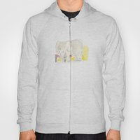 Elephant loves apples Hoody