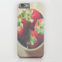 Berries in a cup iPhone 6 Slim Case