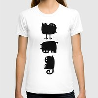 Diversity Womens Fitted Tee White SMALL