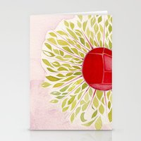 Each Leaf Stationery Cards