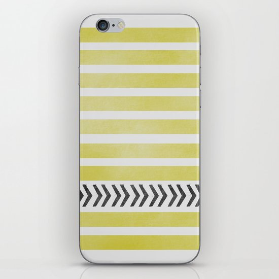 STRIPES AND ARROWS iPhone & iPod Skin