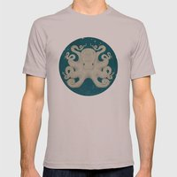 Octopus Mens Fitted Tee Cinder SMALL