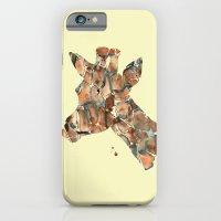 iPhone & iPod Case featuring Giraffe by Laura Irwin Art