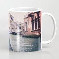 Venice By Gondola Mug