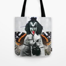 The last Kiss Collage Tote Bag