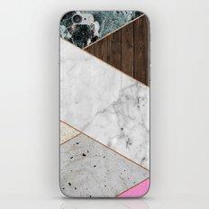 Rose Gold Chevron iPhone & iPod Skin
