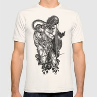 FAVONIUS II Mens Fitted Tee Natural SMALL
