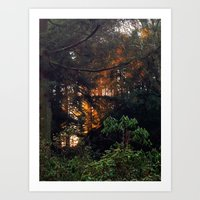 Hunting The Sunrise Art Print