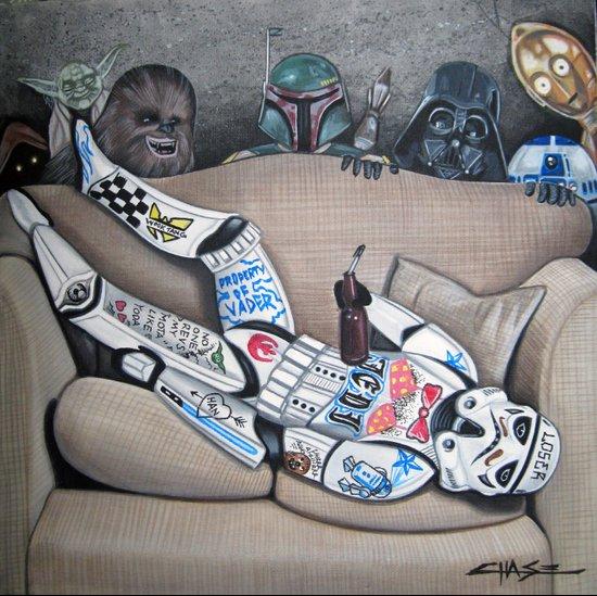 Dorm Trooper Art Print