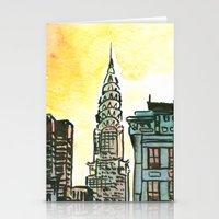 Chrysler Building - New York Stationery Cards