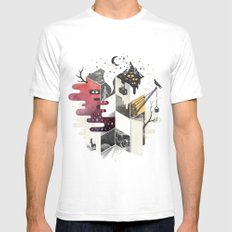 Jung At Heart Mens Fitted Tee White SMALL
