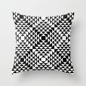 Geometric Tribal Throw Pillow
