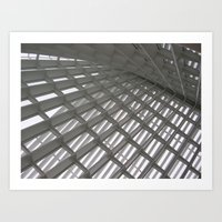 Glass Roof Art Print