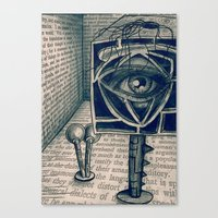 I Saw Everything Canvas Print