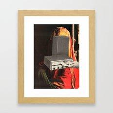 8-track dreams Framed Art Print