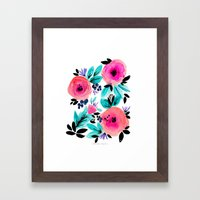 Savannah Flower Framed Art Print