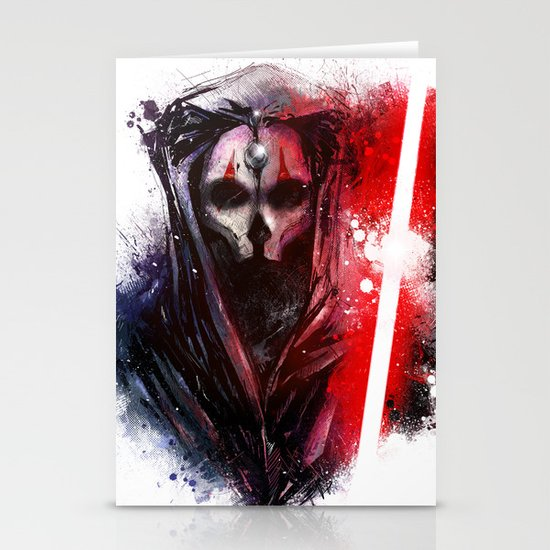 Darth Nihilus Stationery Card