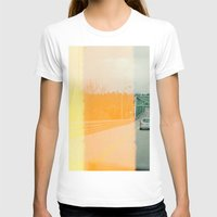 upstate new york Womens Fitted Tee White SMALL
