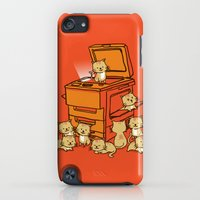 iPod Touch Cases featuring The Original Copycat by Budi Kwan